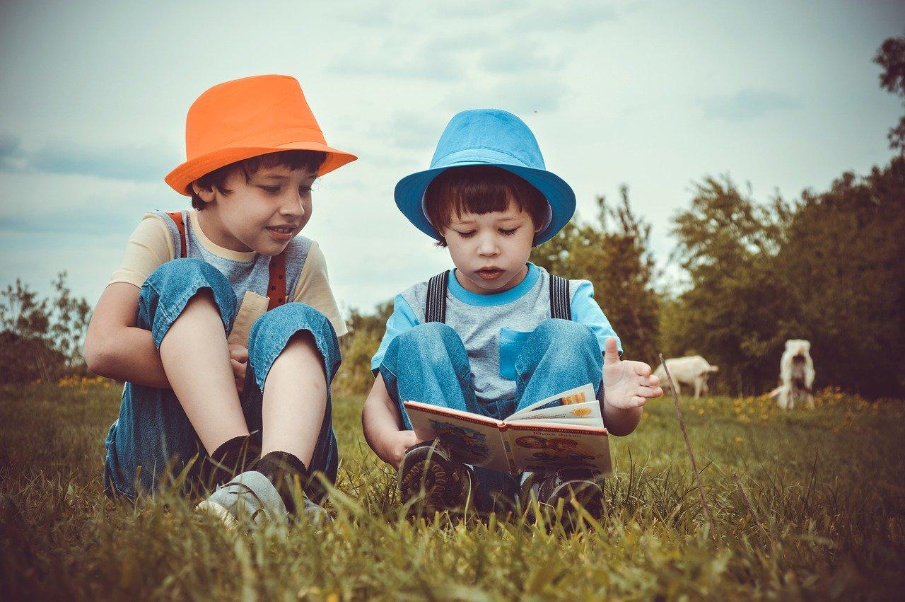 kaip sudominti vaika skaityti iliustracija